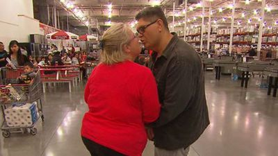 Couple to marry then walk down the aisle at Costco wedding