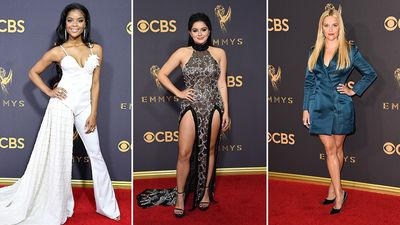 Emmy Awards: Stars shine on the red carpet