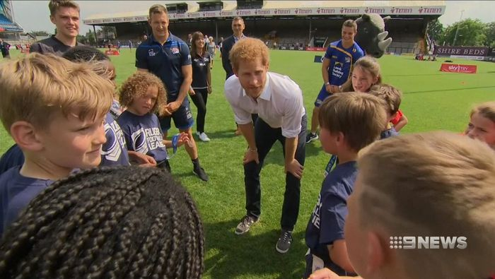 Prince Harry calls for more science and engineering students during Silverstone visit