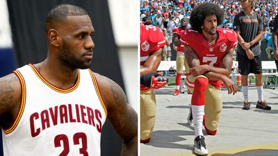 LeBron James will stand for anthem