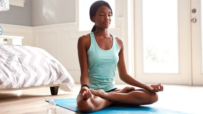 No, you don't have to sit in lotus pose to meditate