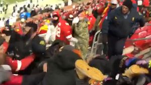 Fight at NFL game