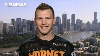 Jeff Horn says Manny Pacquiao will not be 'at his very best' for 'Battle of Brisbane'