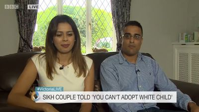 Couple told they could not adopt 'because only white babies were available'