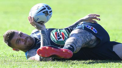 Dragons lose Dugan for Manly NRL match