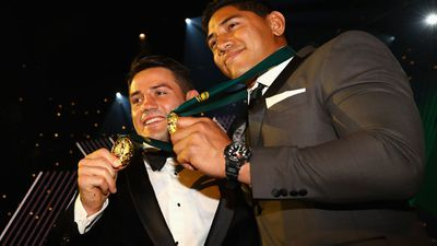 Cronk, Taumalolo declared joint winners on Dally M Medal