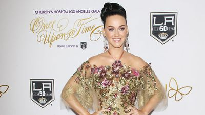 Katy Perry celebrates her 32nd birthday with bacon cake, Kanye West, and a trip to the polls