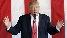 Donald Trump at a rally in Omaha, Nebraska. (AAP)