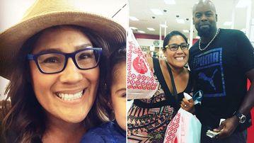 "Primary school teacher Michelle Hampton and ""Van"". (Facebook/Michelle Hampton)"
