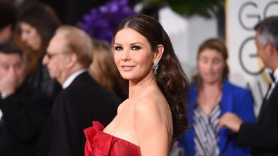 Catherine Zeta-Jones stuns in make-up free snap