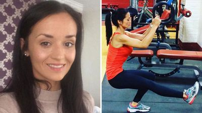 Personal trainer shares 'healthy' photo taken hours before shock lung cancer diagnosis