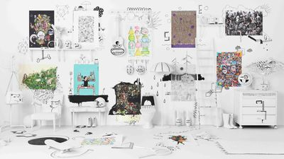 Ikea unveils $15 limited edition art collection