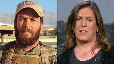 War hero leads charge against Donald Trump's transgender ban