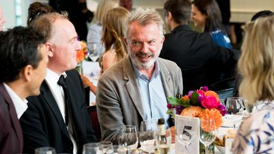 Nine's Oscars lunch: Sam Neill, Miranda Tapsell and more stars celebrate -- Photos!