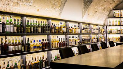 Inside the underground bar that serves more than 1000 types of whiskey