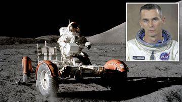 Gene Cernan walked on the moon in 1972. (AFP)