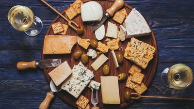 Important, delicious study explains why wine and cheese taste better together