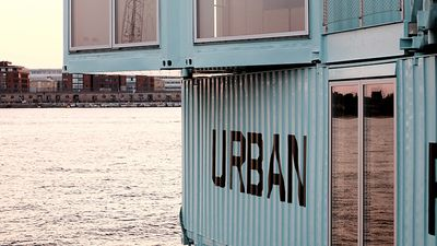Shipping containers transformed into the ultimate accomodation