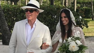 Tommy Hilfiger's daughter ties the knot