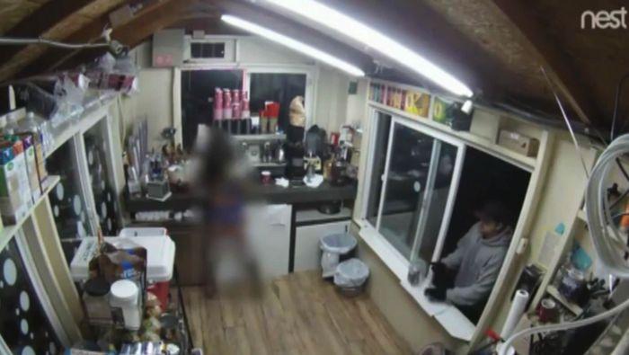 Video shows Kent bikini barista assault