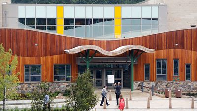 Inside Sandy Hook School: New building brings hope three years on from tragic shooting