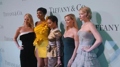Reese Witherspoon at Tiffany & Co. blue book gala