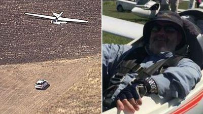 Pilot's wife watched fatal crash