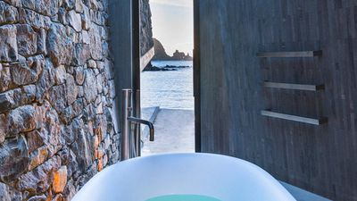 New Zealand's most lavish baths with a view