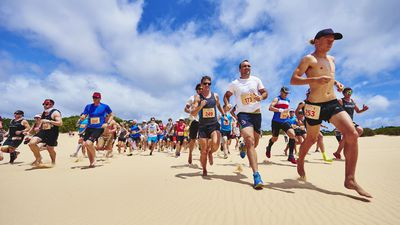 Why soft sand running is the killer summer workout you've been waiting for