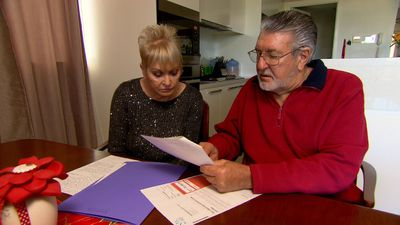 A Current Affair campaign sees couple's massive energy bill wiped