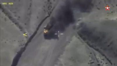 Russia kills '200 ISIS jihadists' in devastating airstrike