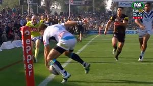 Zillman red-faced after gifting Panthers a try