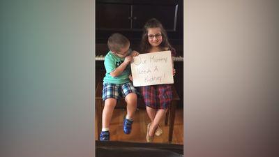 Mother receives kidney transplant after kids' video plea goes viral