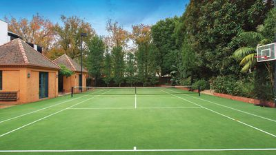 Tennis court with no house up for sale