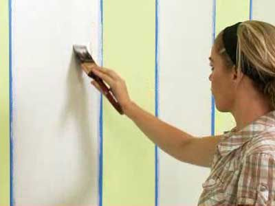 How to paint striped walls using Dulux Design