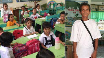 Joseph Alba attends an elementary school.