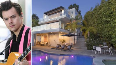 Harry Styles has listed his Hollywood Hills home