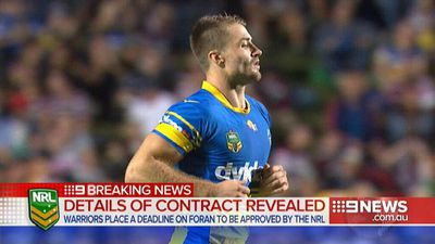 Kieran Foran hits out at 'prying' media