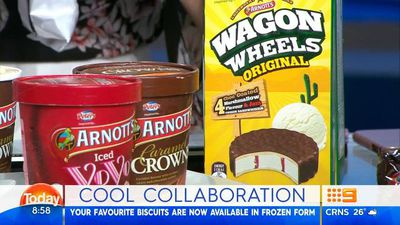 Today hosts taste test new Peters and Arnott's ice-cream range