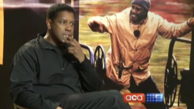 The story behind Leila's infamously awkward Denzel Washington interview