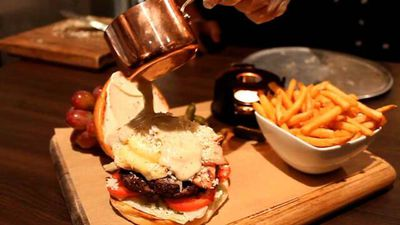 World's first fondue burger board hits Sydney, and we can all die now