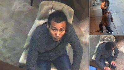 Police hunting thief who stole $300,000 diamond