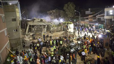 Schoolchildren among the 248 dead in Mexico earthquake