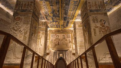 Photographer granted unprecedented access to Valley of the Kings' tombs