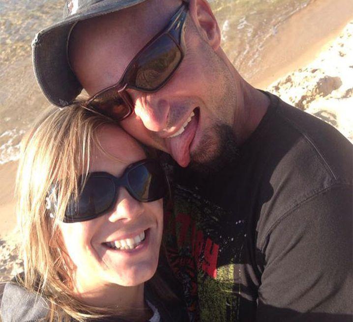 Tara Costigan and Marcus Rappel. (Facebook)