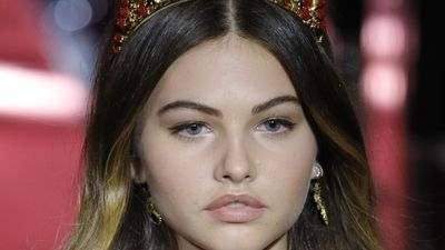 The most beautiful girl in the world is now a catwalk star