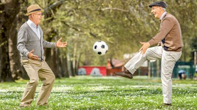 Want to stay active well into your twilight years? Start playing sport now