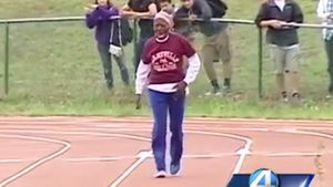 Centurion breaks 100-metre record