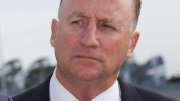 Steve Irons. (AAP)