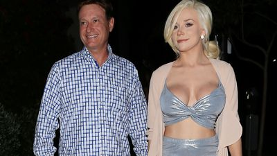 Courtney Stodden debuts new dad-age love, months after split from Doug Hutchison, 57